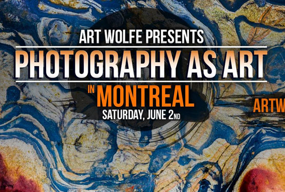 June Event Art Wolfe Presents Photography as Art