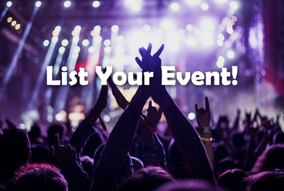 List your event!