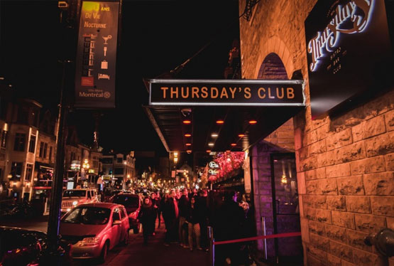 Thursday's Bistro Bar Club Montreal